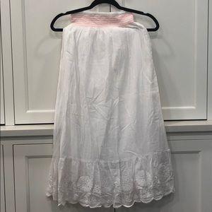 Johnnieb cotton maxi skirt